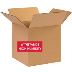 """10 x 10 x 10"""" W5c Weather-Resistant Corrugated Boxes"""