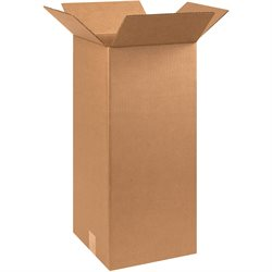 """10 x 10 x 24"""" Tall Corrugated Boxes"""
