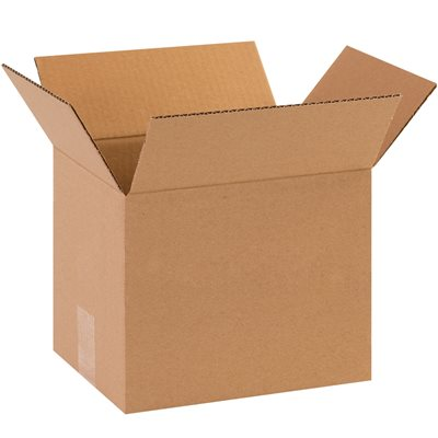 "10 x 8 x 10"" Corrugated Boxes"