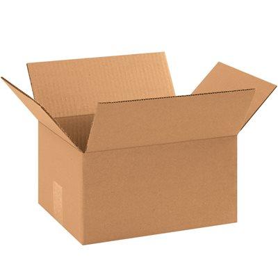 "11 1/4 x 8 3/4 x 6"" Corrugated Boxes"