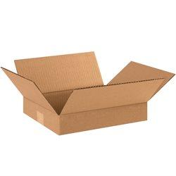 "12 x 10 x 2"" Flat Corrugated Boxes"