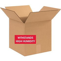 """12 x 12 x 12"""" V3c Weather-Resistant Corrugated Boxes"""
