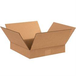"12 x 12 x 2"" Flat Corrugated Boxes"