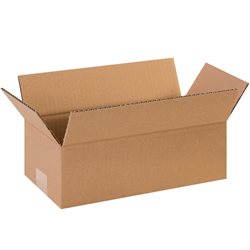 "12 x 6 x 4"" Long Corrugated Boxes"