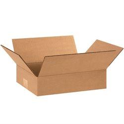 "12 x 8 x 3"" Flat Corrugated Boxes"