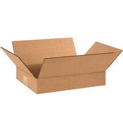 "12 x 9 x 2"" Flat Corrugated Boxes"