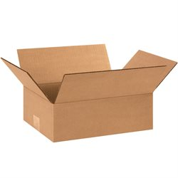"12 x 9 x 4"" Flat Corrugated Boxes"
