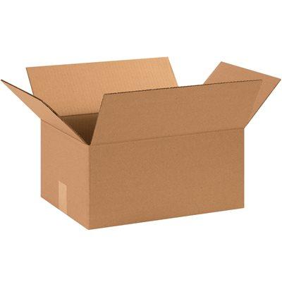 "15 x 11 x 7"" Corrugated Boxes"