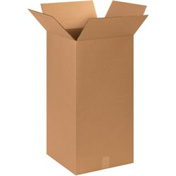 """15 x 15 x 30"""" Tall Corrugated Boxes"""