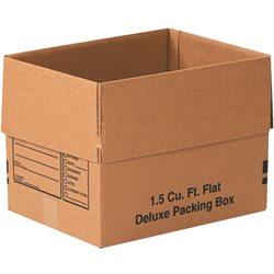 "16 x 12 x 12"" Deluxe Packing Boxes"