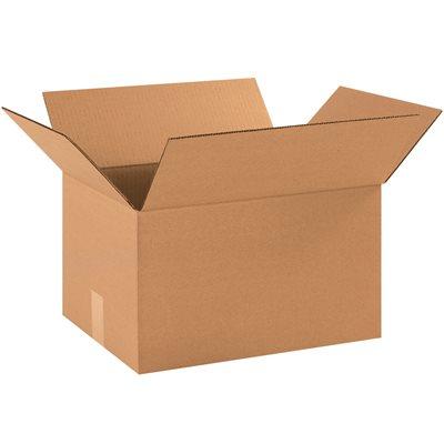 "16 1/4 x 12 1/4 x 9 5/16"" Corrugated Boxes"