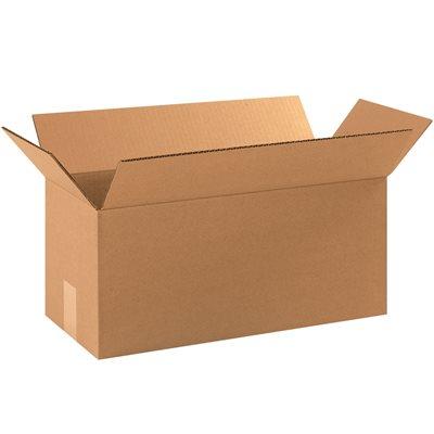 "17 x 8 x 8"" Long Corrugated Boxes"