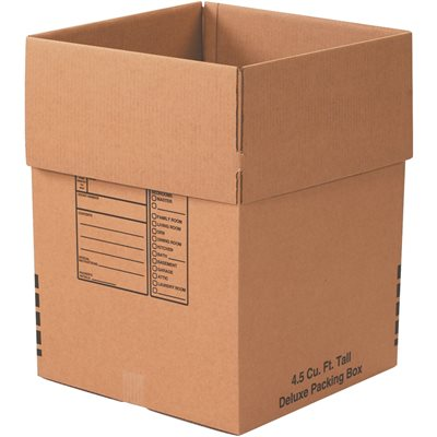 """18 x 18 x 24"""" Deluxe Packing Boxes"""