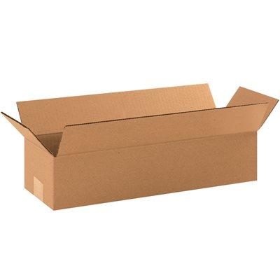 "19 x 6 x 4"" Long Corrugated Boxes"