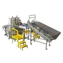 Vertical Dual Laundry Bagger System Vertic-L-PP