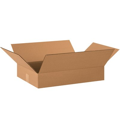 "20 x 14 x 3"" Flat Corrugated Boxes"
