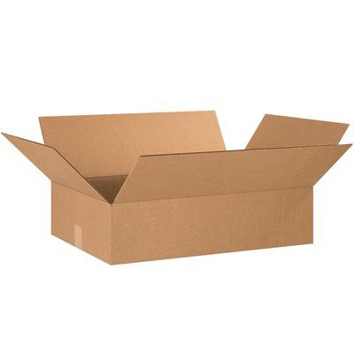 "24 x 16 x 6"" Flat Corrugated Boxes"