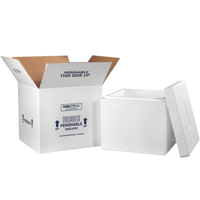 """16 3/4 x 16 3/4 x 15"""" Insulated Shipping Kit"""