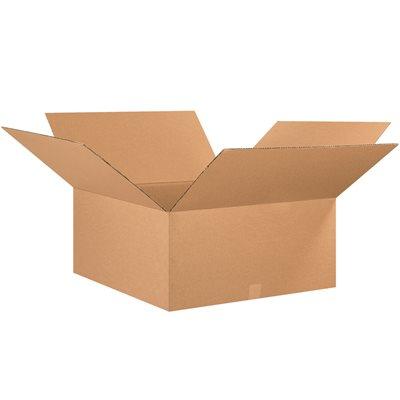 "25 x 25 x 12"" Corrugated Boxes"