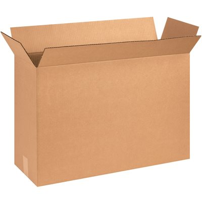 "25 1/8 x 8 3/8 x 17 1/2"" Corrugated Boxes"