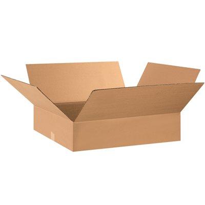 "28 x 16 x 5"" Flat Corrugated Boxes"