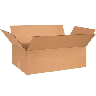 "28 x 18 x 8"" Flat Corrugated Boxes"