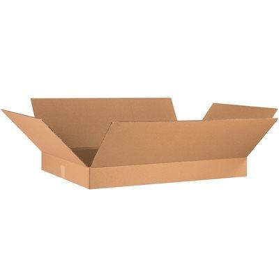 "36 x 24 x 4"" Flat Corrugated Boxes"