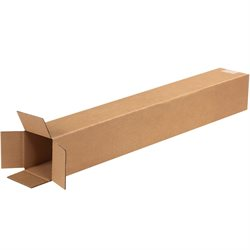 "4 x 4 x 28"" Tall Corrugated Boxes"