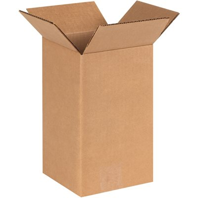"""6 x 6 x 10"""" Tall Corrugated Boxes"""
