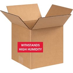"""8 x 8 x 8"""" W5c Weather-Resistant Corrugated Boxes"""