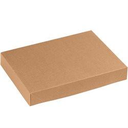 """11 1/2 x 8 1/2 x 1 5/8"""" Kraft Apparel Boxes"""