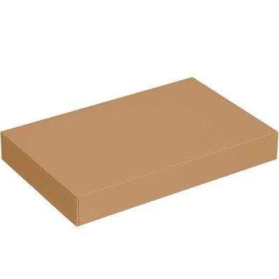 """17 x 11 x 2 1/2"""" Kraft Apparel Boxes"""
