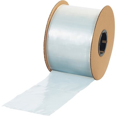 """4"""" x 12"""" - 2 Mil Poly Bags on a Roll"""
