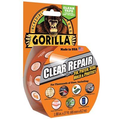 "2"" x 27' Gorilla® Clear Repair"