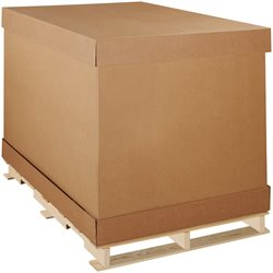 "58 x 41 x 45"" Double Wall Corrugated Boxes"