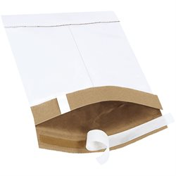"6 x 10"" White #0 Self-Seal Padded Mailers"