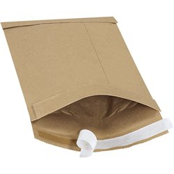 "7 1/4 x 12"" Kraft (25 Pack) #1 Self-Seal Padded Mailers"