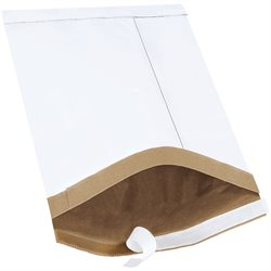 "8 1/2 x 14 1/2"" White #3 Self-Seal Padded Mailers"