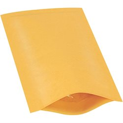 "4 x 8"" Kraft (25 Pack) #000 Heat-Seal Bubble Mailers"