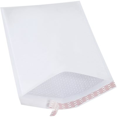 """14 1/4 x 20"""" White #7 Self-Seal Bubble Mailers"""