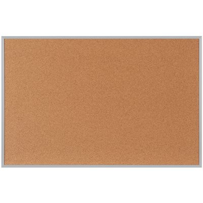 8 x 4' Cork Board with Aluminum Frame