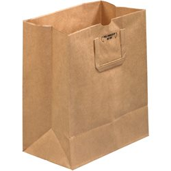 """12 x 7 x 14"""" Flat Handle Grocery Bags"""
