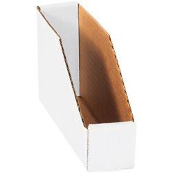 """2 x 9 x 4 1/2"""" White Bin Boxes"""