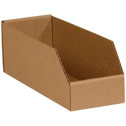 """4 x 9 x 4 1/2"""" Kraft Bin Boxes"""