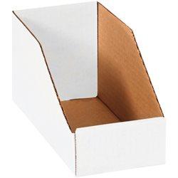 """4 x 9 x 4 1/2"""" White Bin Boxes"""
