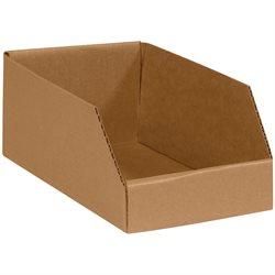 """6 x 9 x 4 1/2"""" Kraft Bin Boxes"""