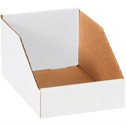 """6 x 9 x 4 1/2"""" White Bin Boxes"""