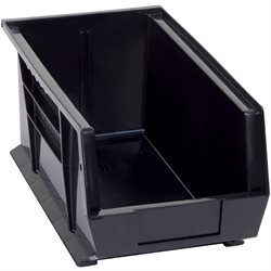 "14 3/4 x 8 1/4 x 7"" Black Conductive Bin Boxes"