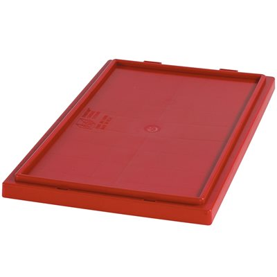 """26 5/8 x 18 1/4"""" Red Stack & Nest Lids"""