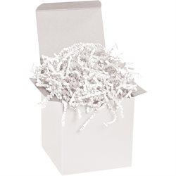 10 lb. White Crinkle Paper